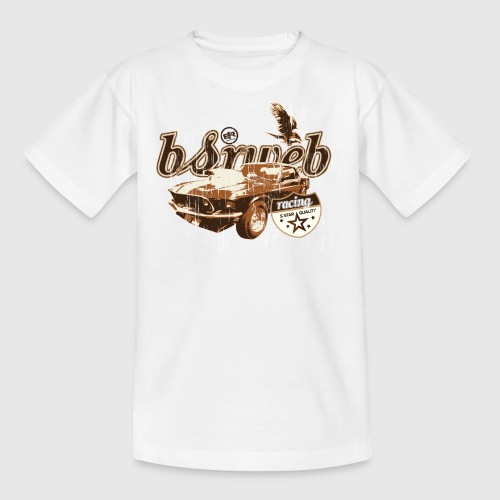 bsrweb racing - Teenager-T-shirt