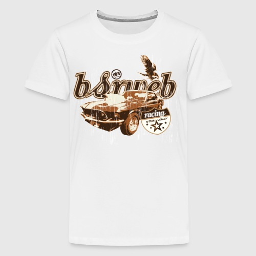 bsrweb racing - Teenager premium T-shirt