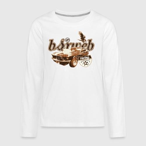 bsrweb racing - Teenager premium T-shirt med lange ærmer
