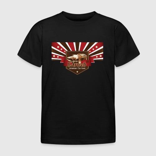 American Car Lover - Børne-T-shirt