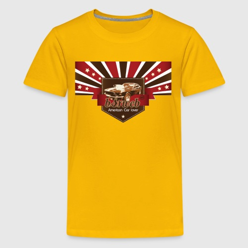 American Car Lover - Teenager premium T-shirt