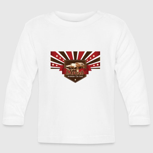 American Car Lover - Langærmet babyshirt