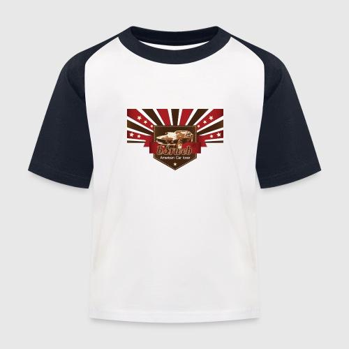 American Car Lover - Baseball T-shirt til børn