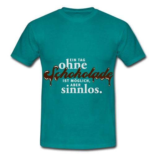 Schokolade - Männer T-Shirt