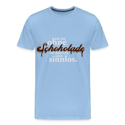Schokolade - Männer Premium T-Shirt