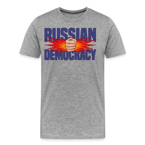 Russian Democracy - Men's Premium T-Shirt