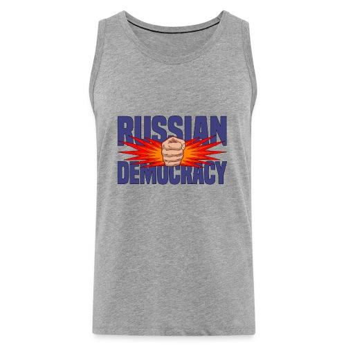 Russian Democracy - Men's Premium Tank Top