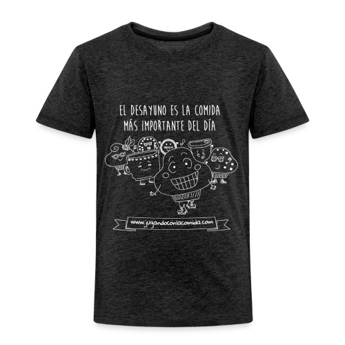 El Desayuno (white) - Camiseta premium niño