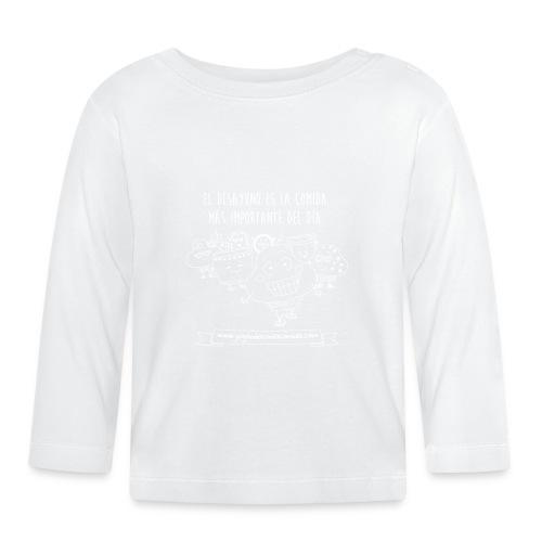 El Desayuno (white) - Camiseta manga larga bebé