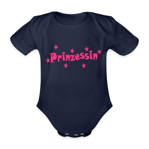 Prinzessin - Baby Bio-Kurzarm-Body
