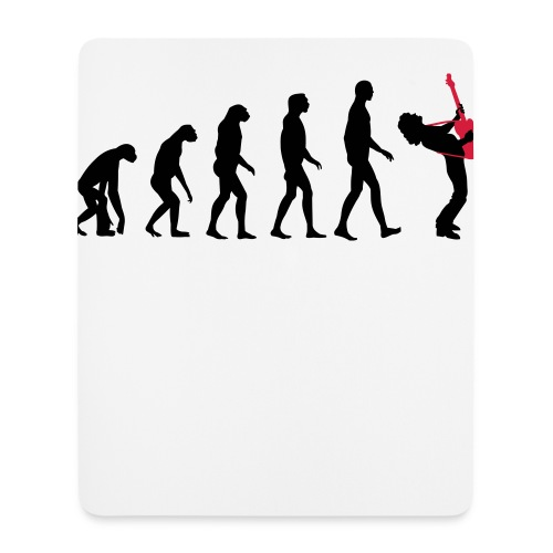 The Evolution Of Rock Tee - mens - Mouse Pad (vertical)