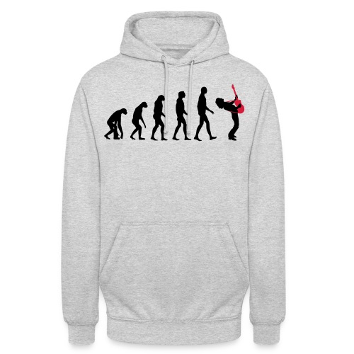 The Evolution Of Rock Tee - mens - Unisex Hoodie
