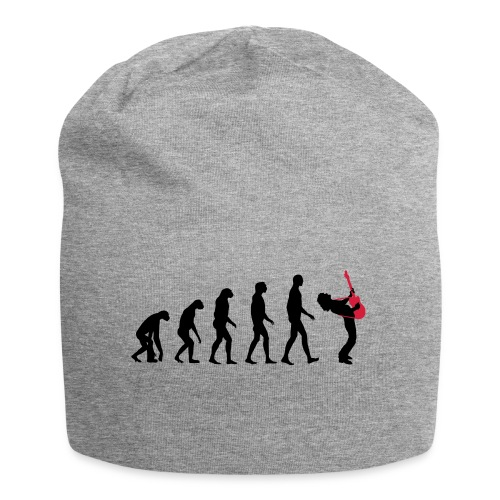 The Evolution Of Rock Tee - mens - Jersey Beanie
