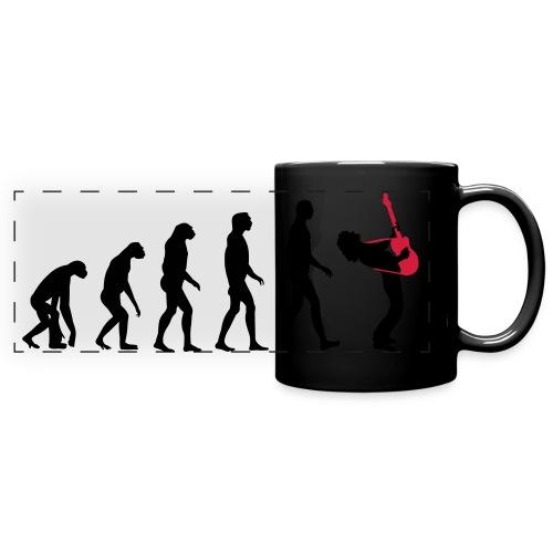 The Evolution Of Rock Tee - mens - Full Color Panoramic Mug