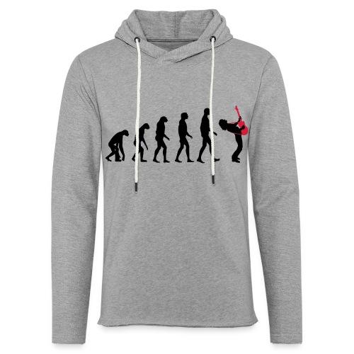 The Evolution Of Rock Tee - mens - Light Unisex Sweatshirt Hoodie