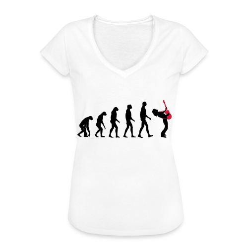 The Evolution Of Rock Tee - mens - Women's Vintage T-Shirt