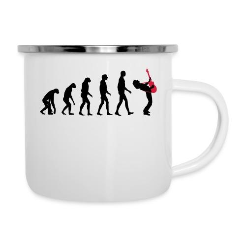 The Evolution Of Rock Tee - mens - Camper Mug