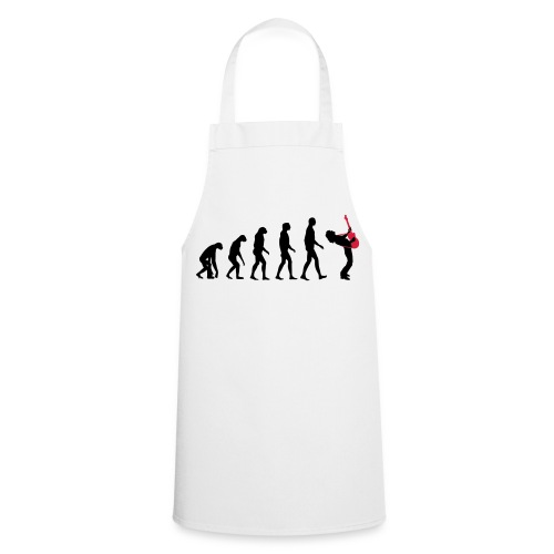 The Evolution Of Rock Tee - mens - Cooking Apron