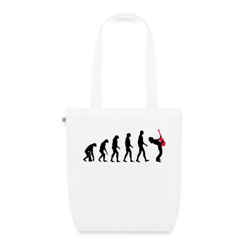 The Evolution Of Rock Tee - mens - EarthPositive Tote Bag
