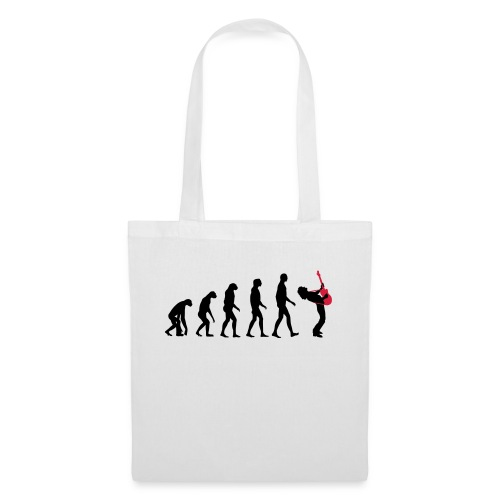 The Evolution Of Rock Tee - mens - Tote Bag