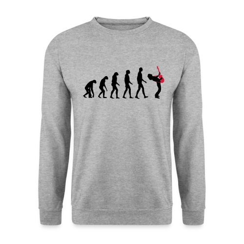 The Evolution Of Rock Tee - mens - Men's Sweatshirt