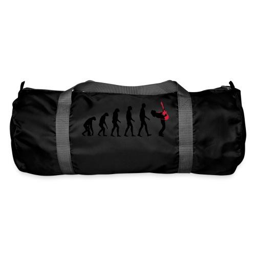 The Evolution Of Rock Tee - mens - Duffel Bag