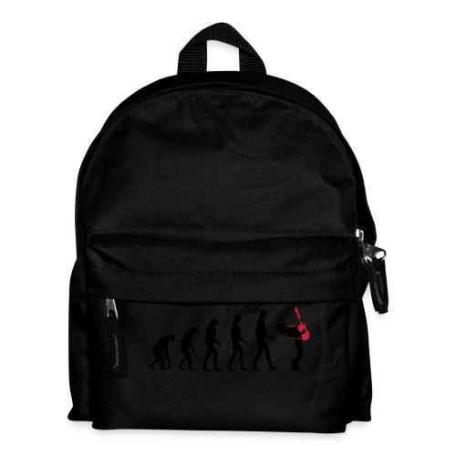 The Evolution Of Rock Tee - mens - Kids' Backpack