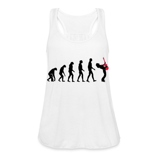 The Evolution Of Rock Tee - mens - Women's Tank Top by Bella