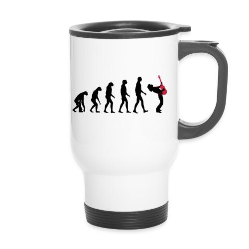 The Evolution Of Rock Tee - mens - Travel Mug