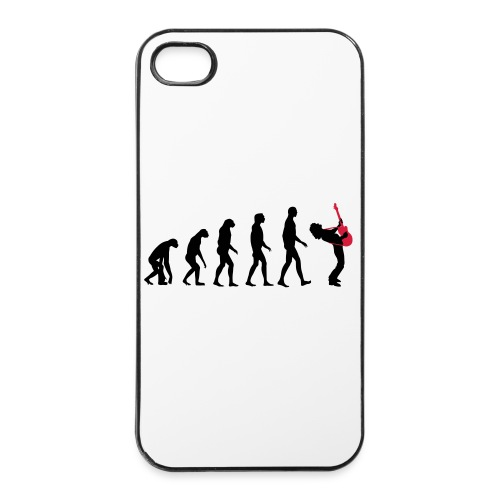 The Evolution Of Rock Tee - mens - iPhone 4/4s Hard Case