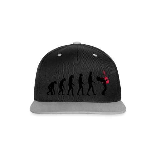The Evolution Of Rock Tee - mens - Contrast Snapback Cap