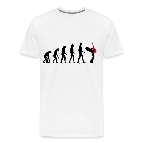 The Evolution Of Rock Tee - mens - Men's Premium T-Shirt