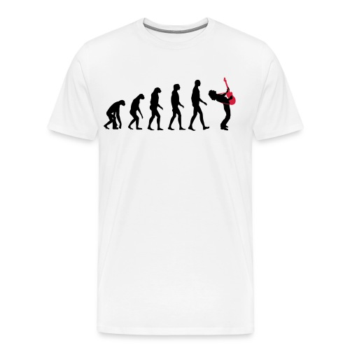 The Evolution Of Rock Tee - mens - Men's Premium T-Shirt