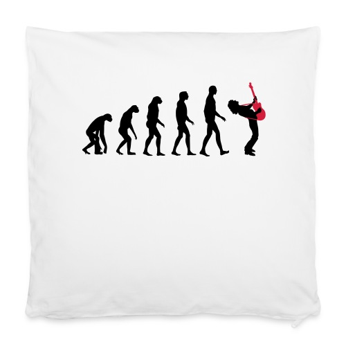 "The Evolution Of Rock Tee - mens - Pillowcase 16"" x 16"" (40 x 40 cm)"