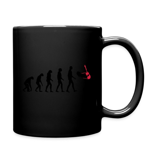 The Evolution Of Rock Tee - mens - Full Colour Mug