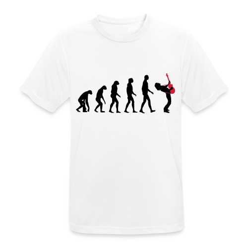 The Evolution Of Rock Tee - mens - Men's Breathable T-Shirt