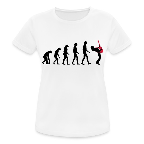 The Evolution Of Rock Tee - mens - Women's Breathable T-Shirt