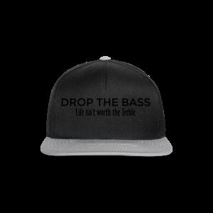 Drop the Bass Hoodie (Schwarz) - Snapback Cap