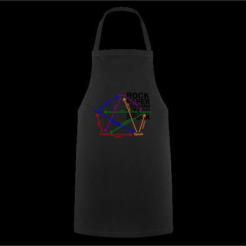 Men's Premium T-Shirt Lizard, Spock - Cooking Apron