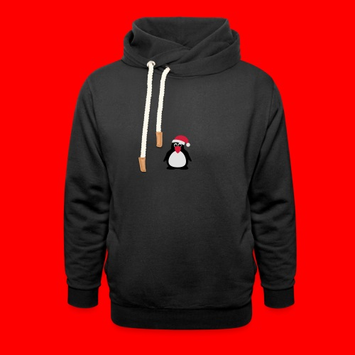 Kerstdrinkfles - Sjaalkraag hoodie