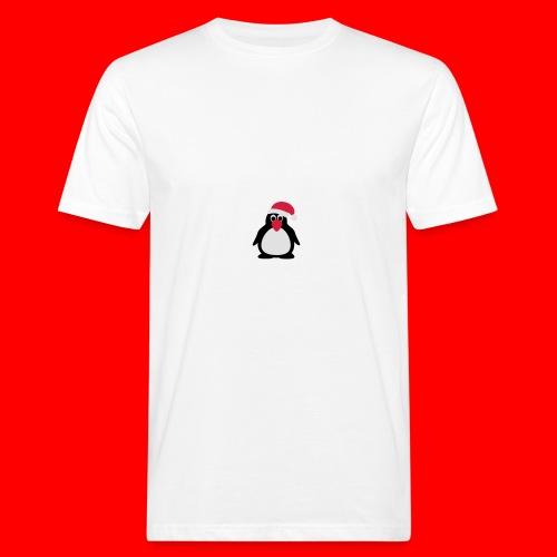 Kerstdrinkfles - Mannen Bio-T-shirt