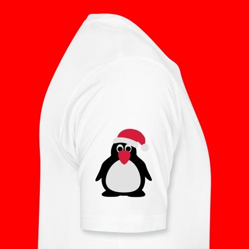 Kerstdrinkfles - Mannen Premium T-shirt