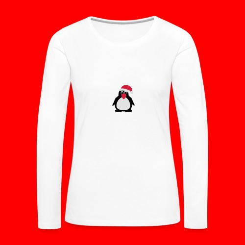 Kerstdrinkfles - Vrouwen Premium shirt met lange mouwen