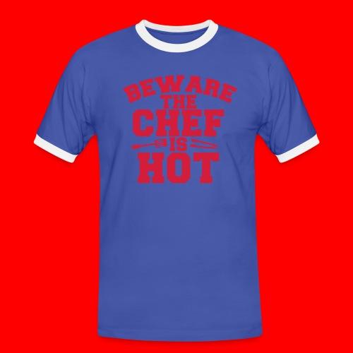 KoksSchort - Mannen contrastshirt