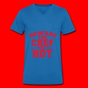 KoksSchort - Mannen bio T-shirt met V-hals van Stanley & Stella