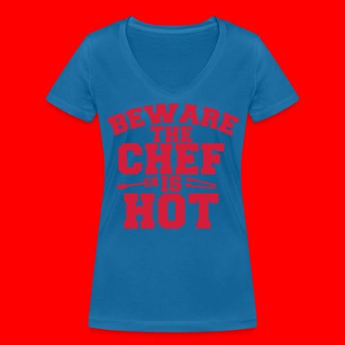 KoksSchort - Vrouwen bio T-shirt met V-hals van Stanley & Stella