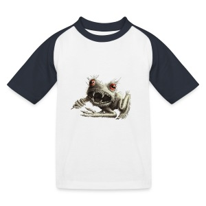 Werfrosch - Kinder Baseball T-Shirt