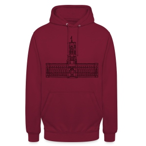 Red City Hall Berlin (gold) - Unisex Hoodie