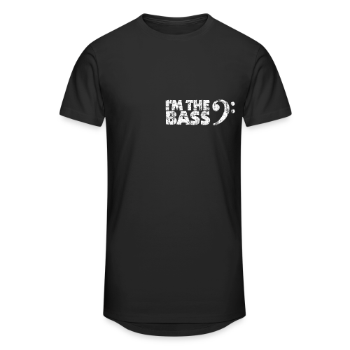 Bass T-Shirt I'm the Bass - Männer Urban Longshirt