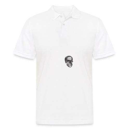 Zwinkernder Schädel - Männer Poloshirt